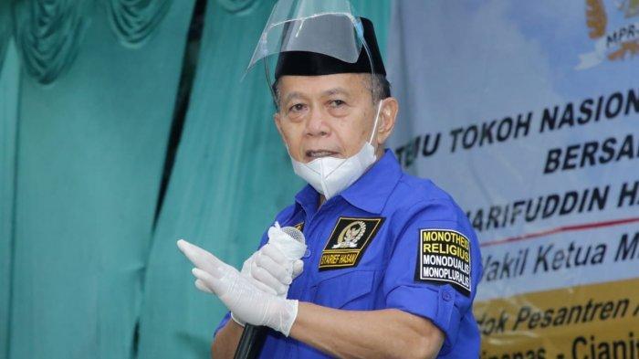 Syarief Hasan Turut Berduka Atas Hilangnya Kapal Selam KRI Nanggala 402