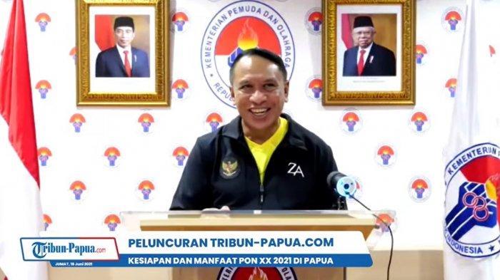 Sambut Baik Hadirnya Tribun-Papua.com, Menpora Minta Bantuan Informasikan Talenta Olahraga Papua